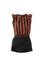 Z8 Z8 jurk Claudette happy henna/beasty black