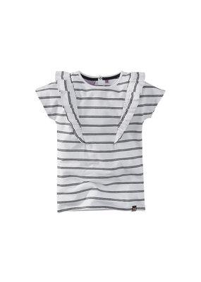 Z8 Z8 shirt Wisanne bright white/beasty black