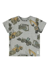 Name-it Name-it shirt NMMDonniso grey melange