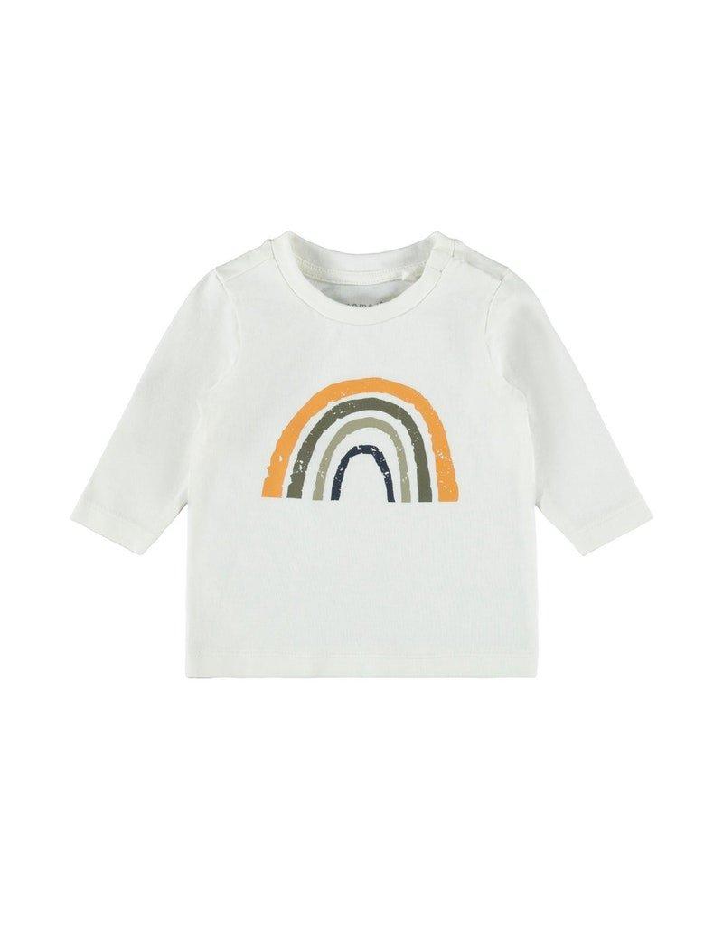 Name-it Name-it shirt NBMDaform snow white
