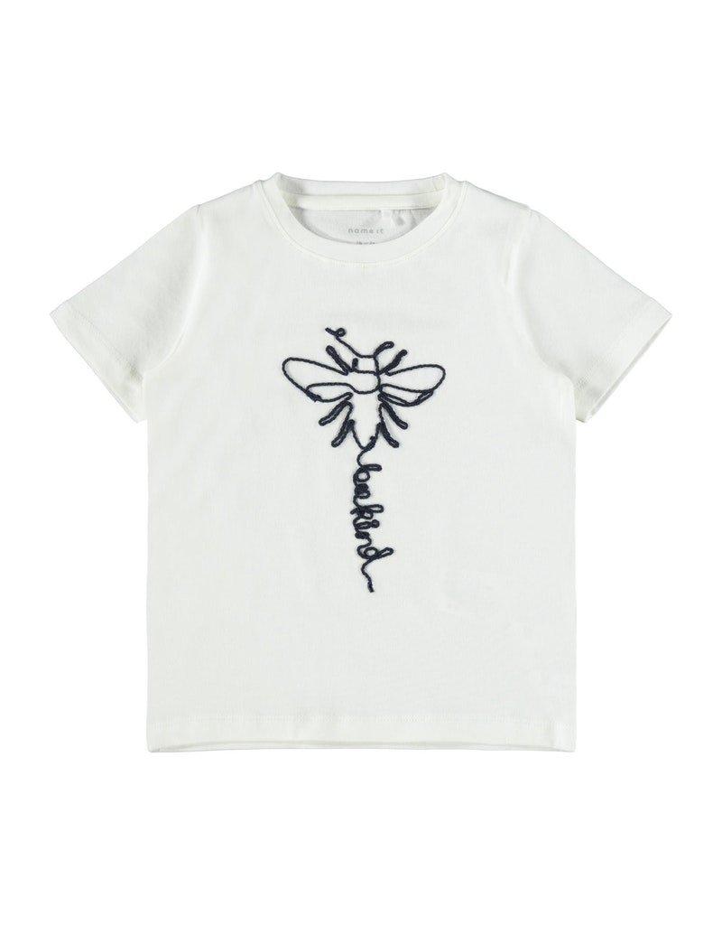 Name-it Name-it shirt NMFDabee snow white