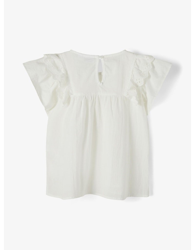 Name-it Name-it shirt NMFFirebird bright white