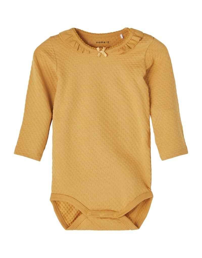 Name-it Name-it romper NBFFina spruce yellow