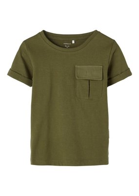 Name-it Name-it shirt NMMFictor ivy green