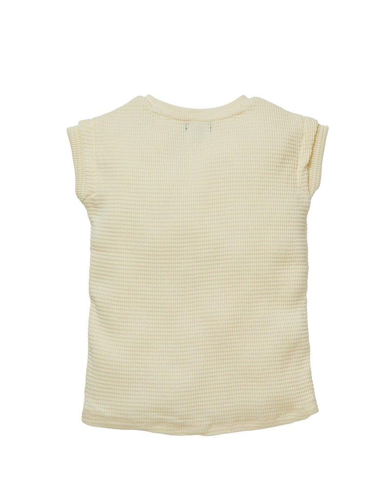 Levv Levv shirt Nevi cream whit