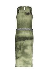 Like Flo Like Flo girls bleach maxi singlet dress army