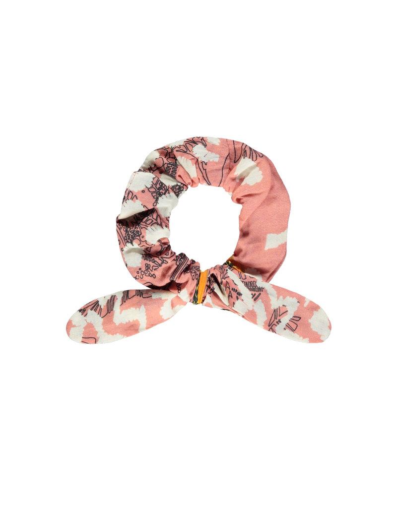 Like Flo Like Flo girls AO hair scrunchie pink papaya