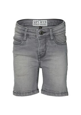 Quapi Quapi shorts Folkert light grey denim