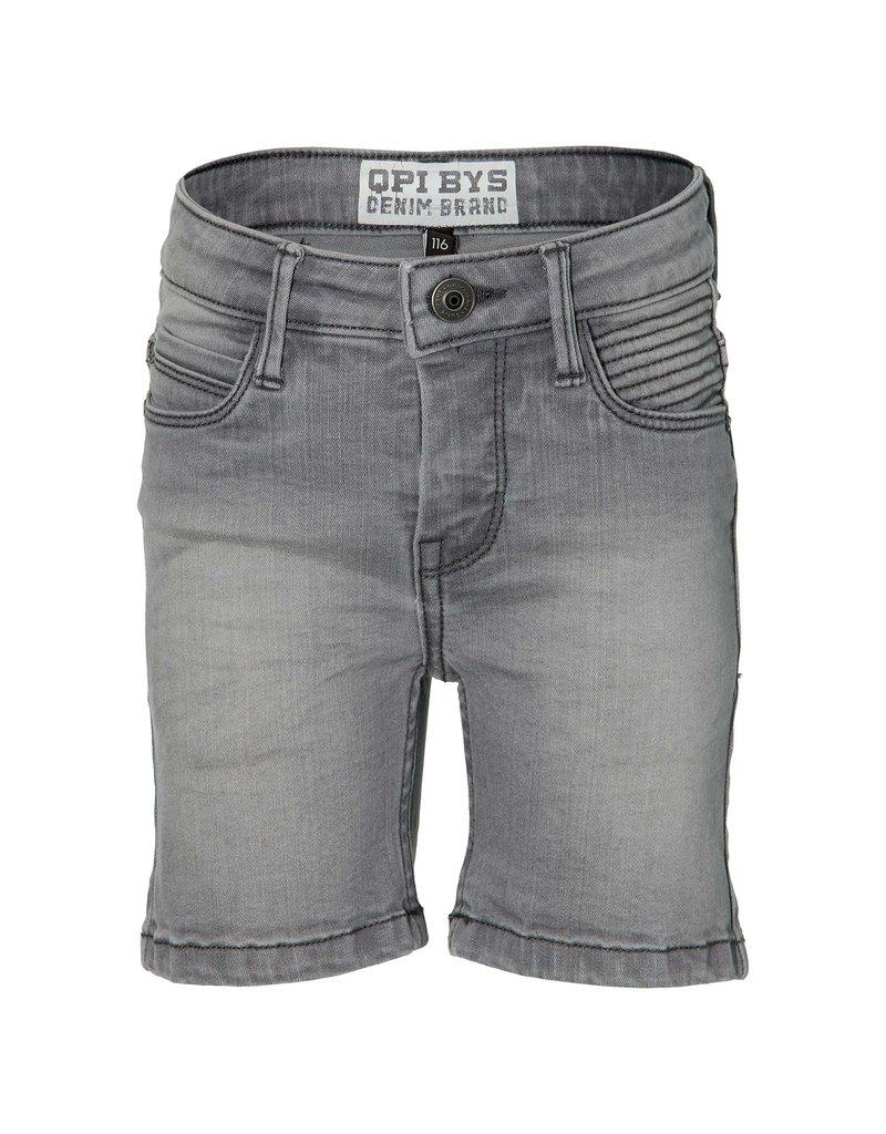 Quapi Quapi shorts Folkert light grey denim