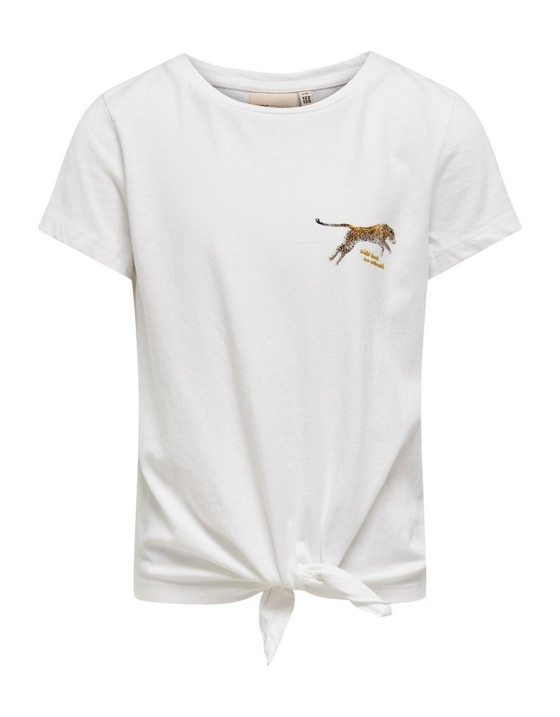 Kids Only Kids Only shirt KONLucy bright white tiger