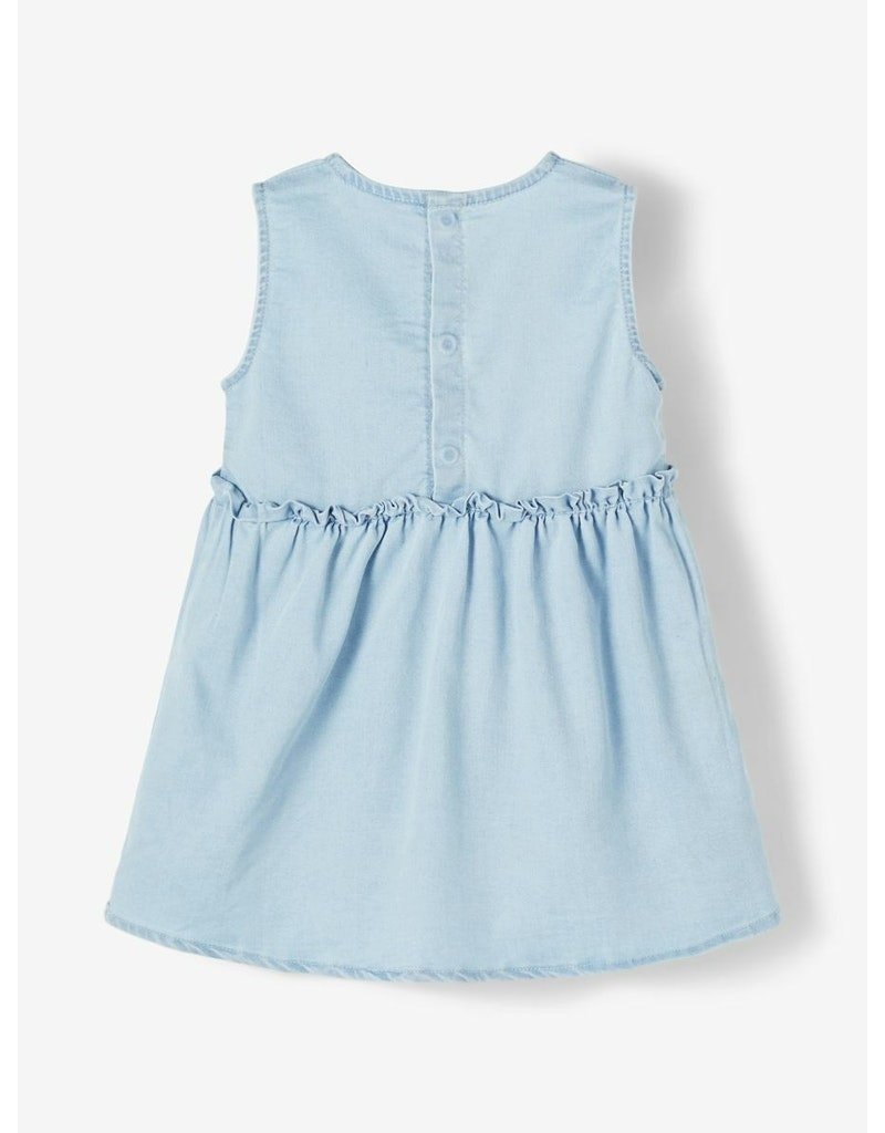 Name-it Name-it jurk NBFBatas light blue denim