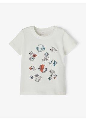 Name-it Name-it shirt NBMFolon snow white