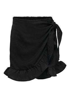 Kids Only Kids Only fake wrap skirt KONLino black