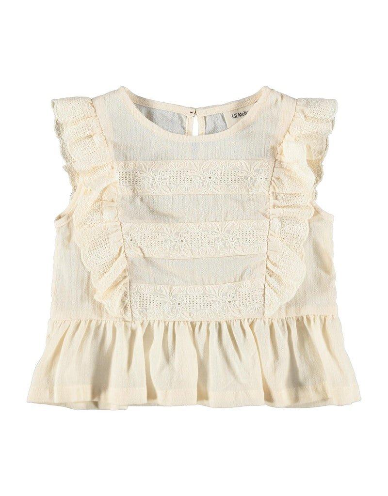 Lil' Atelier Lil' Atelier shirt NMFSolange turtledove