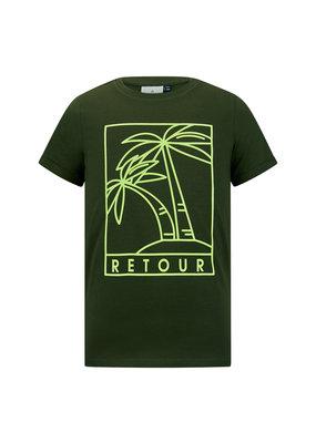 Retour Retour shirt Camiel deep olive