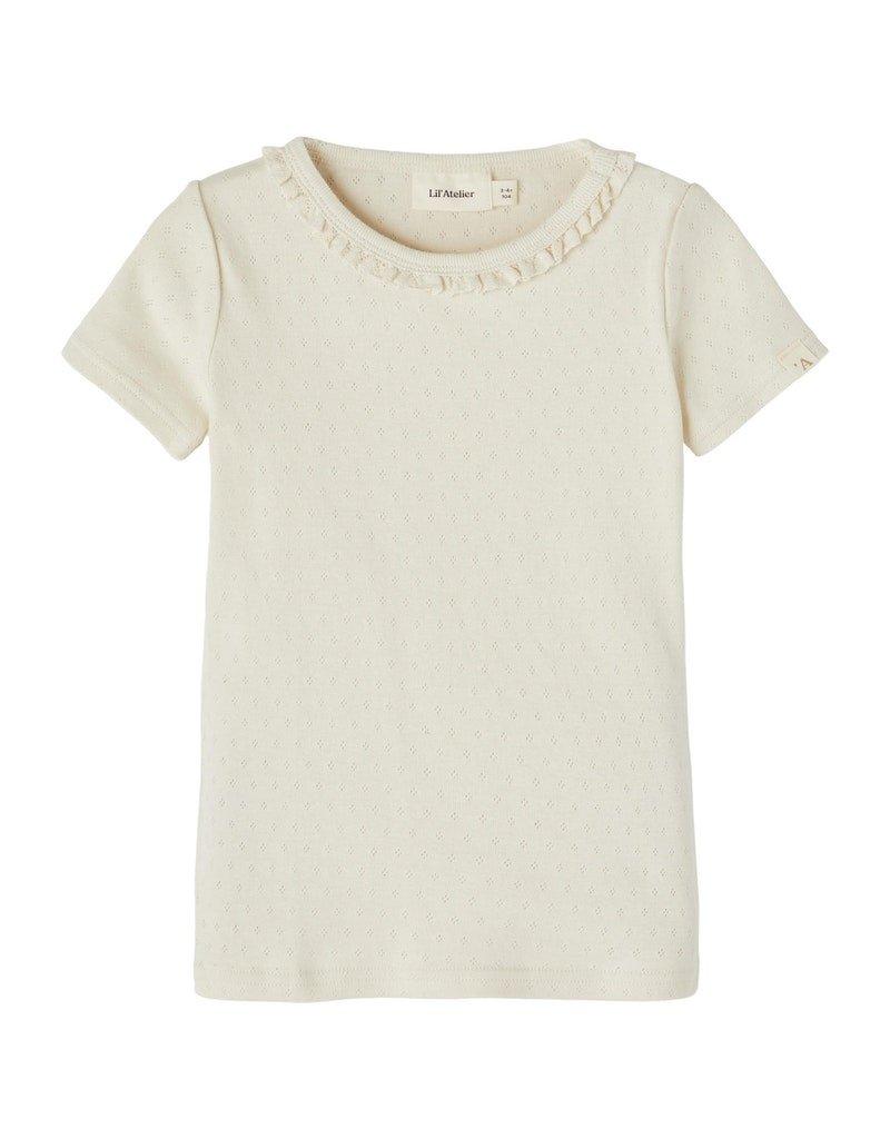 Lil' Atelier Lil' Atelier shirt NMFSafran turtledove
