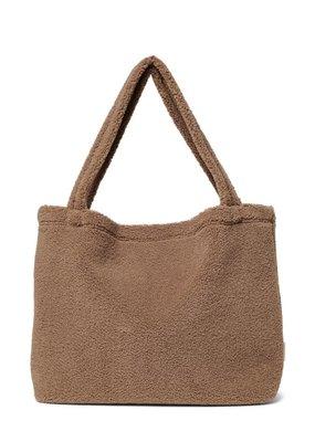 Studio Noos Studio Noos Brown chunky teddy mom bag