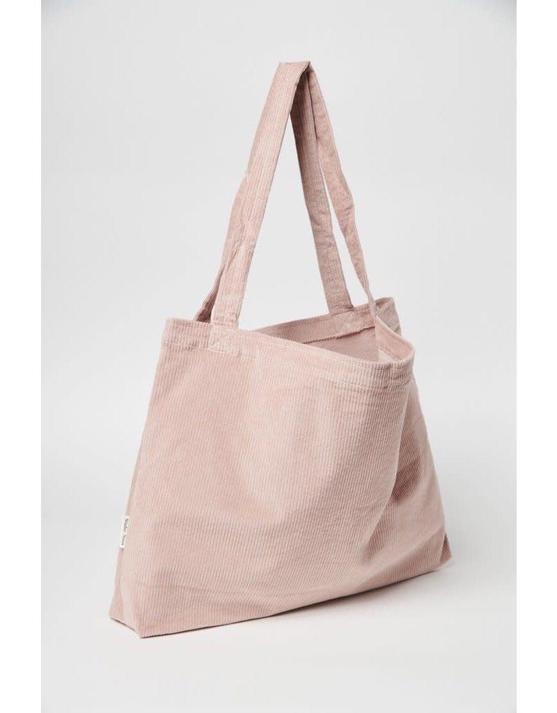 Studio Noos Studio Noos Dusty pink rib mom bag