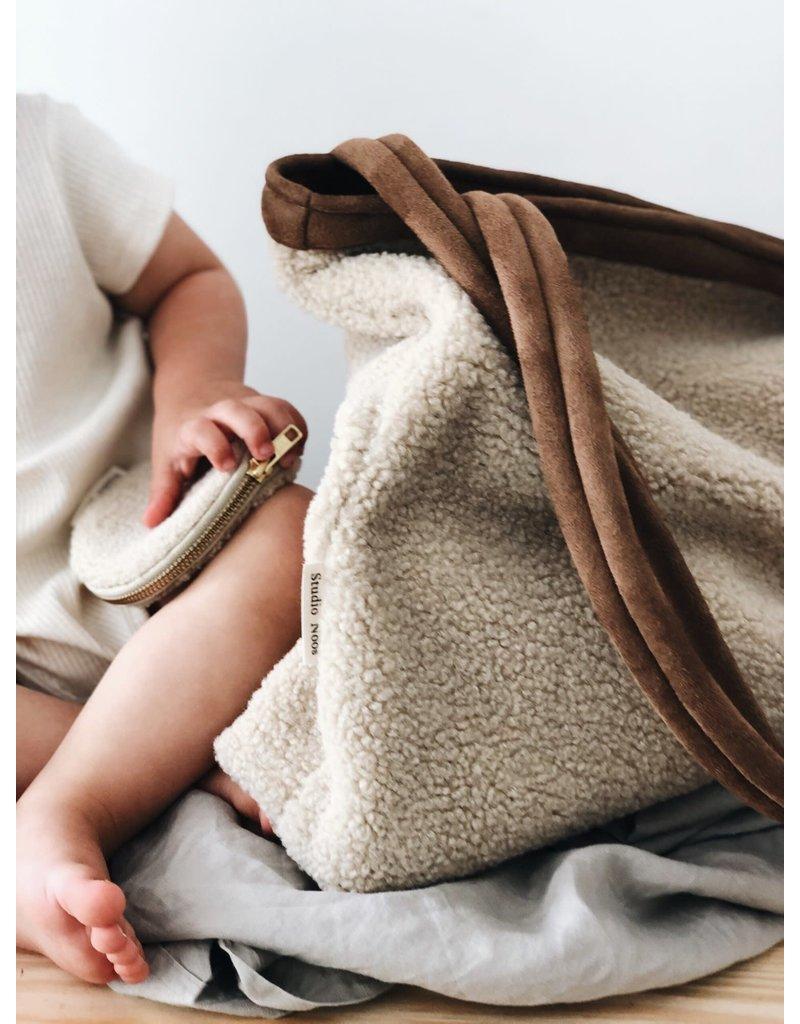 Studio Noos Studio Noos Teddy lammy mom bag
