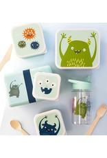 A little lovely compagny Lunch & snackbox set Monsters