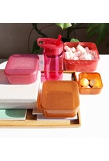 A little lovely compagny Lunch & snackbox set Autumn pink