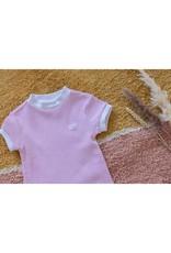 Feetje Feetje wafelpyjama nachthemd Roze
