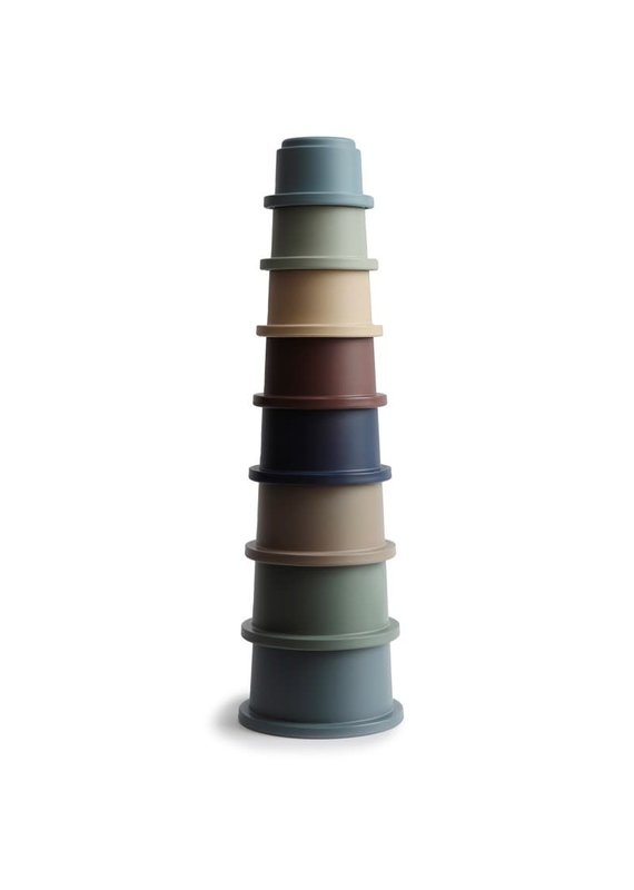 Mushie Mushie stacking cups Forrest