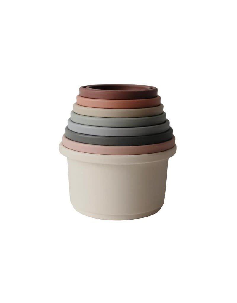 Mushie Mushie stacking cups
