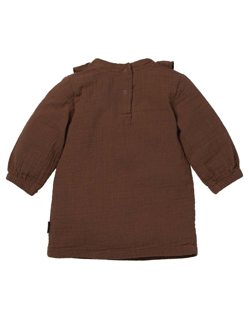 Levv Levv  jurk Barba brown almond