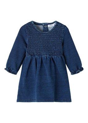 Name-it Name it jurk NBFatorinas denim dark blue