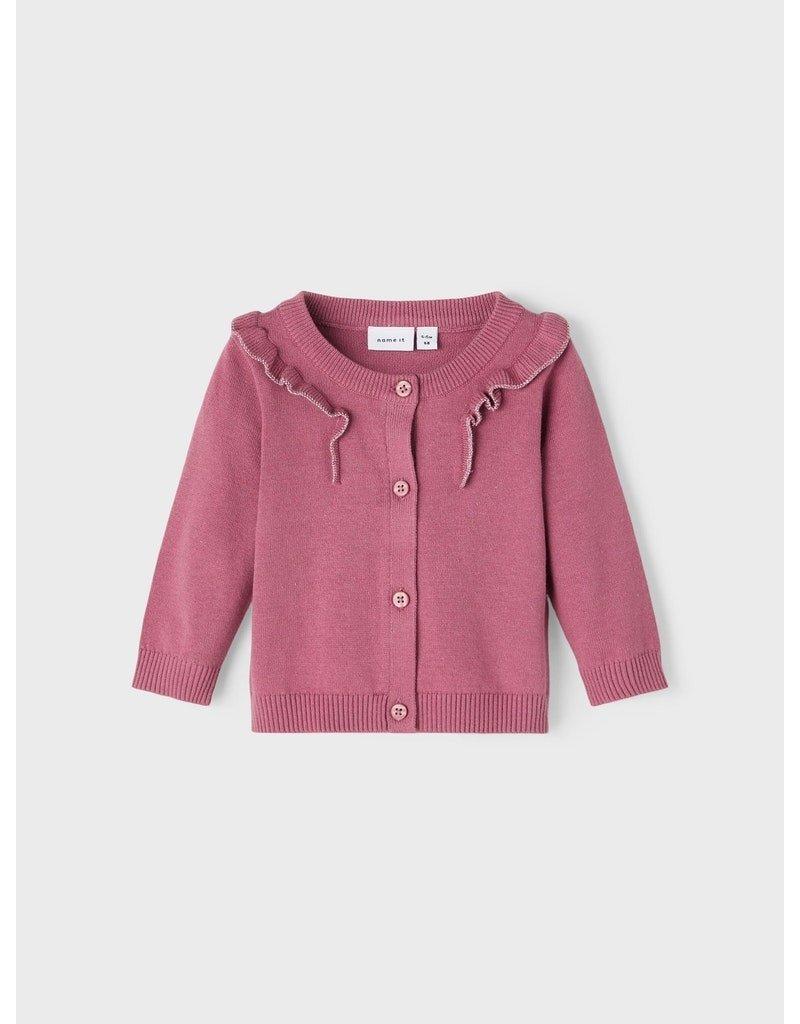 Name-it Name it vest NBFKirai deco rose