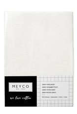 Meyco Meyco jersey hoeslaken 40x80/90 Offwhite