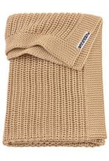 Meyco Meyco wiegdeken Herringbone warm sand (75x100cm)