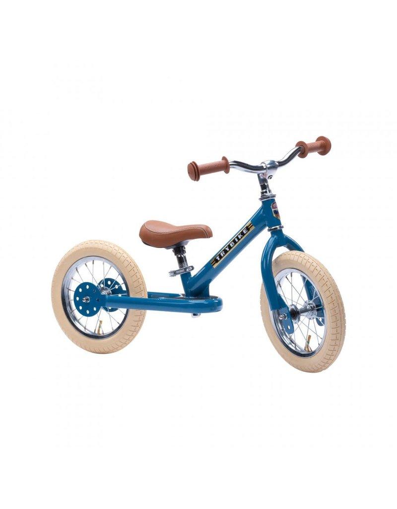Trybike Trybike steel 2 in 1 loopfiets Vintage blue