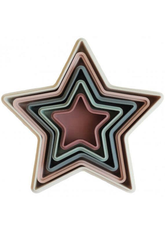 Mushie Mushie Nesting star stapeltoren