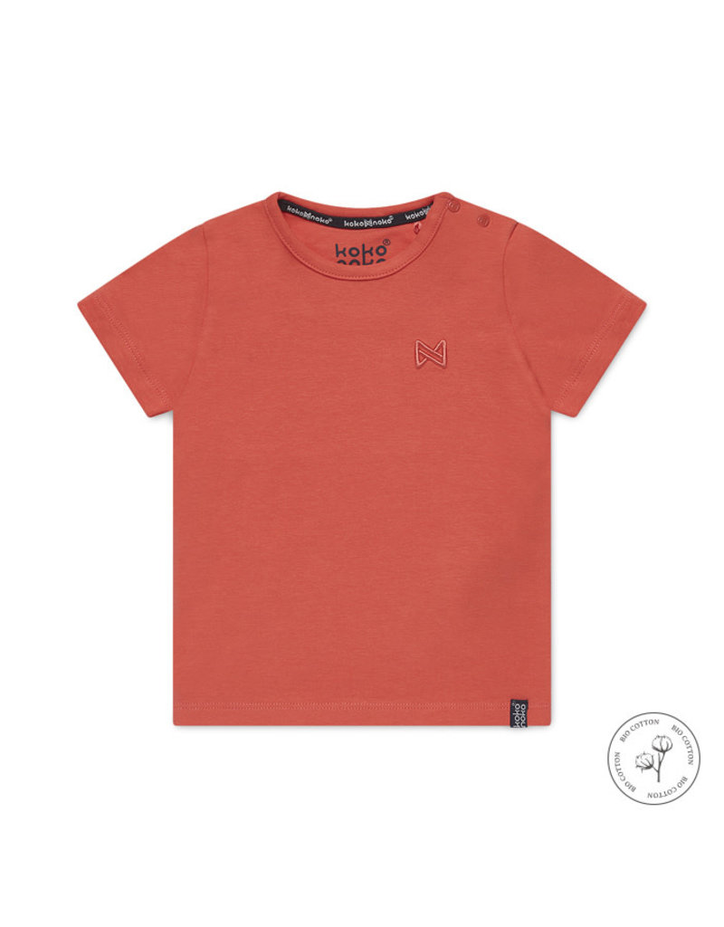 Koko Noko Koko Noko t-shirt Nigel neon coral