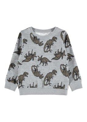 Name-it Name-it sweater NMMLoke grey melange