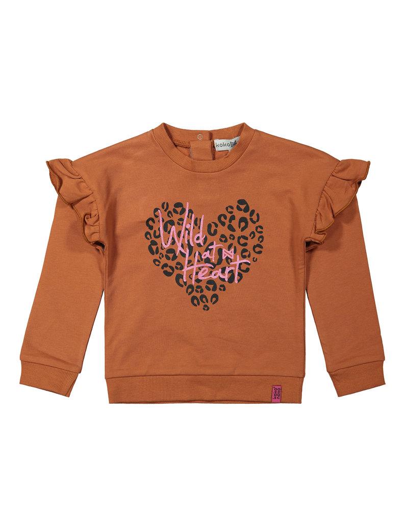Koko Noko Koko Noko. sweater rusty brown