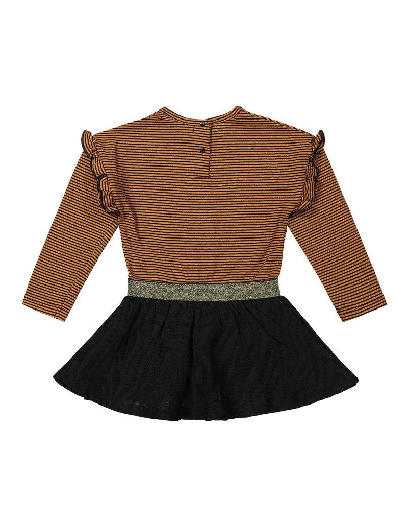 Koko Noko Koko Noko. jurk rusty brown + black