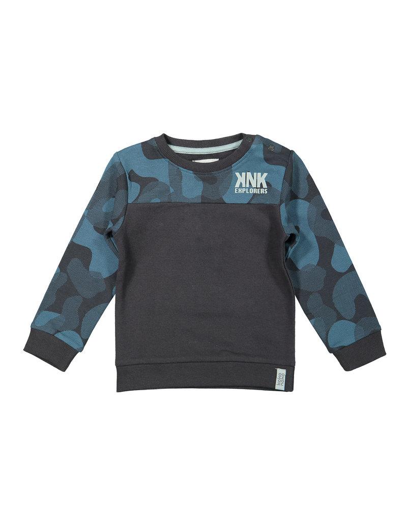 Koko Noko Koko Noko. boys sweater  dark grey