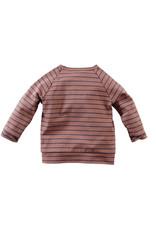 Z8 Newborn Z8 newborn longsleeve Timor red rust/stripes