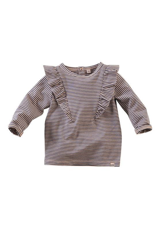 Z8 Newborn Z8 newborn longsleeve Leyte dusty blush/stripes