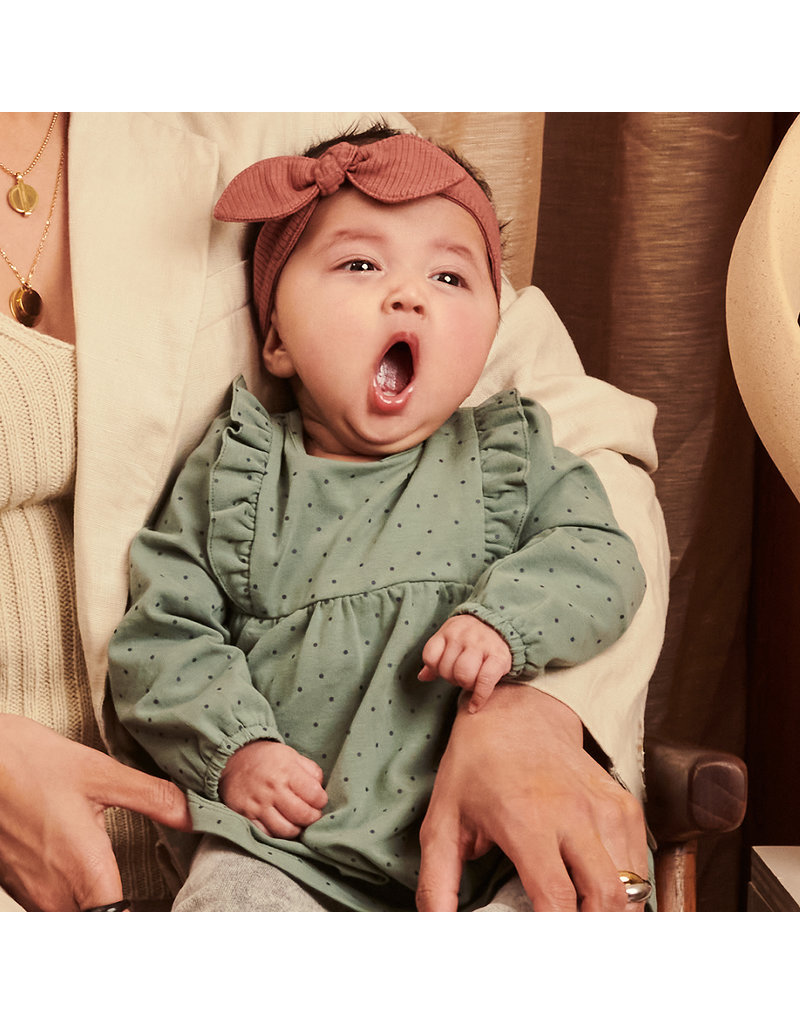 Z8 Newborn Z8 newborn jurk Kailani soft sage/aop