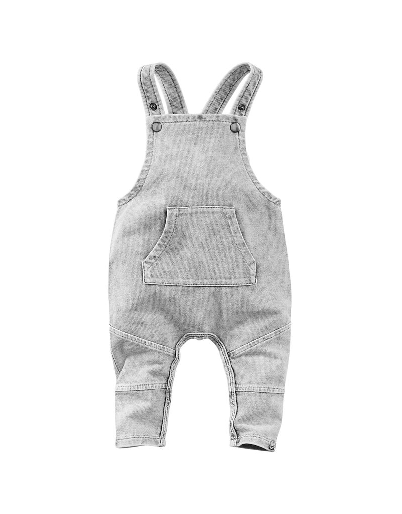 Z8 Newborn Z8 newborn salopette Bumblebee faded grey