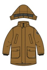 Name-it Name-it jas parka NMMMiller rubber