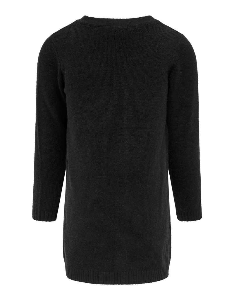 Kids Only Kids Only vest KONLesly l/s knit black