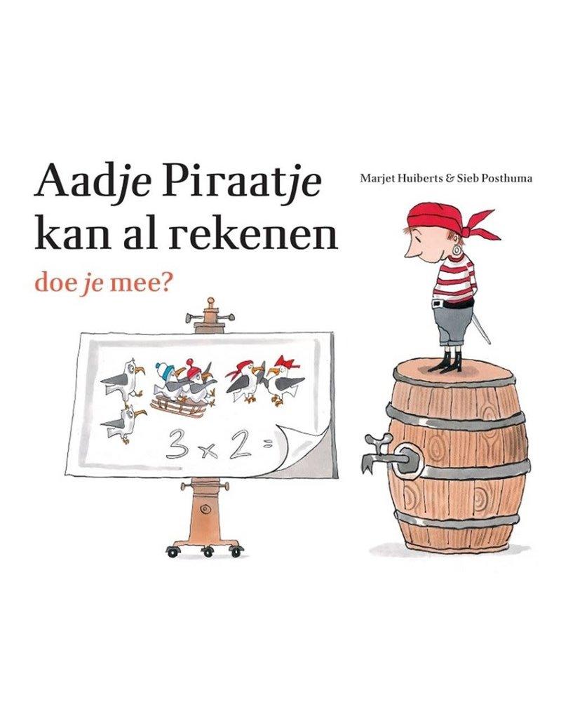 Aadje Piraatje kan al rekenen. Doe je mee