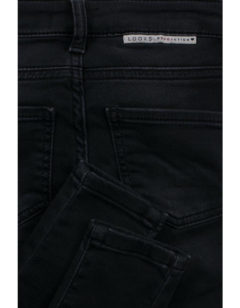 Looxs Looxs jeans jog denim skinny antra washed