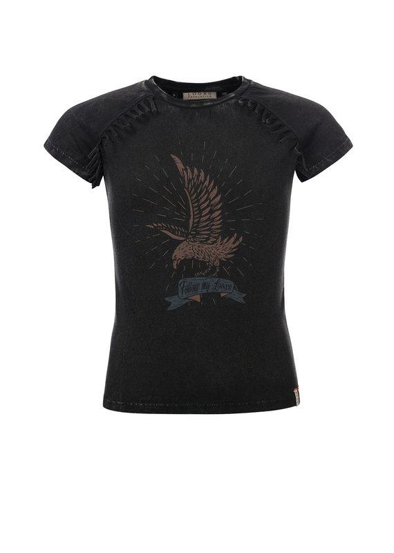 Looxs Looxs shirt wasjed acid black