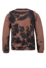 Looxs Looxs sweater tie-dye medium brown